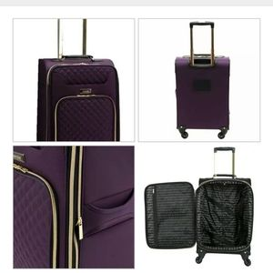 """kensie24"""" INCH LUGGAGE EXANDABLE Carry on rolling"""